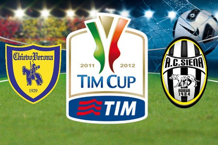 chievo, siena, streaming, diretta, live, coppa italia, chievo siena streaming